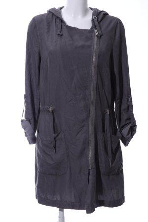 Tom Tailor Denim Abrigo con capucha gris claro look casual