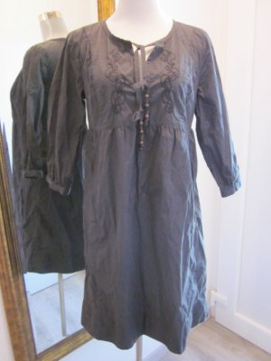 Tom Tailor Denim Kleid Grau Gr L