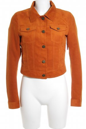 Tom Tailor Denim Kurzjacke orange Casual-Look