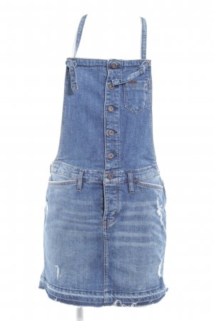 Tom Tailor Denim Pinafore Overall Skirt blue casual look