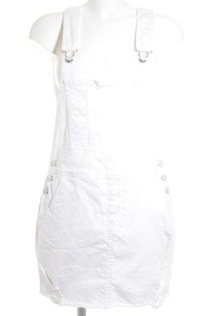 Tom Tailor Denim Latzrock weiß Street-Fashion-Look