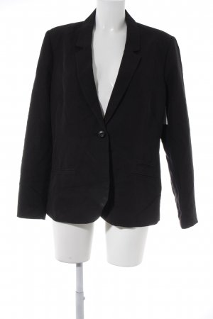Tom Tailor Denim Long-Blazer schwarz Business-Look