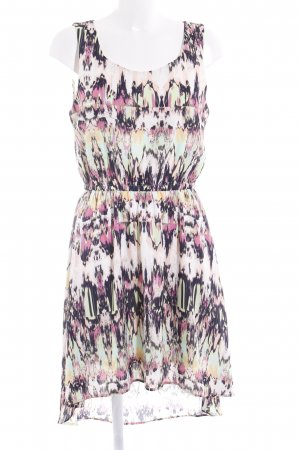 Tom Tailor Denim Midi Dress abstract pattern casual look