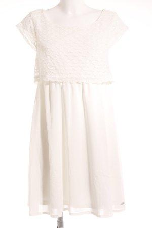 Tom Tailor Denim Minikleid weiß Casual-Look