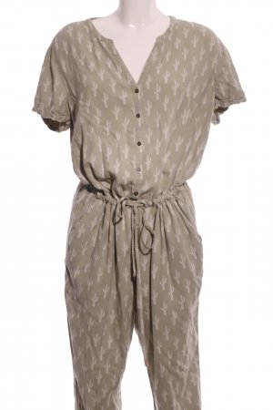 Tom Tailor Denim Onesie cream allover print casual look
