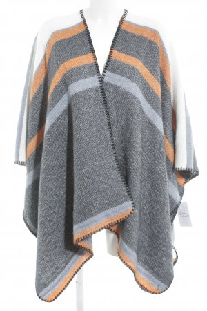 Tom Tailor Denim Poncho Streifenmuster Street-Fashion-Look