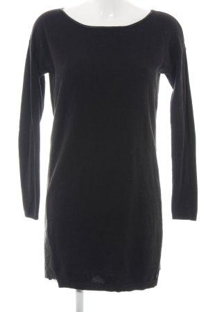 Tom Tailor Denim Robe pull noir style d'affaires