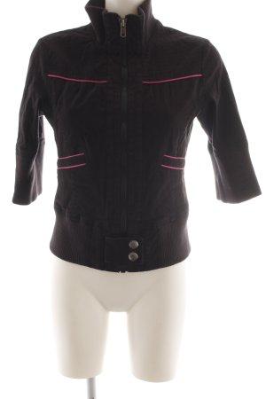 Tom Tailor Denim Shirtjack zwart casual uitstraling