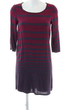 Tom Tailor Denim Shirtkleid rot-blau Farbverlauf Casual-Look