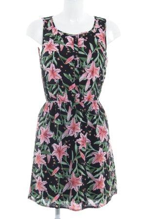 Tom Tailor Denim Shirtkleid Blumenmuster Casual-Look