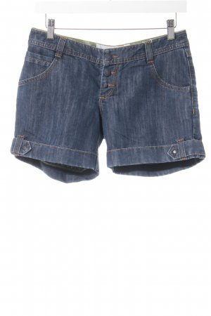 Tom Tailor Denim Shorts dark blue casual look