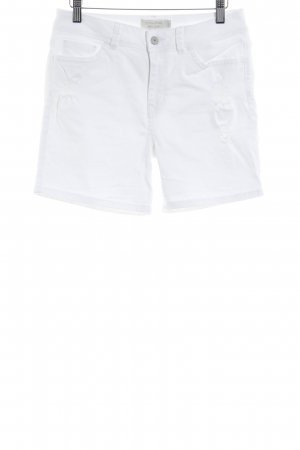 Tom Tailor Denim Shorts weiß Casual-Look