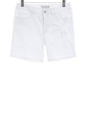 Tom Tailor Denim Shorts weiß Casual-Look