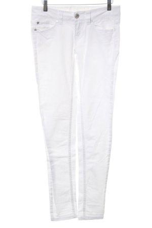 Tom Tailor Denim Skinny Jeans weiß Casual-Look