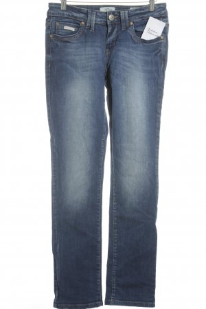 Tom Tailor Denim Skinny Jeans blau Casual-Look