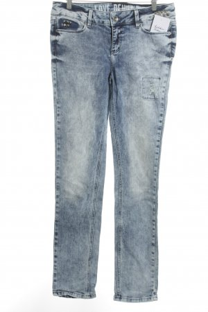 Tom Tailor Denim Skinny Jeans blau-graublau Casual-Look