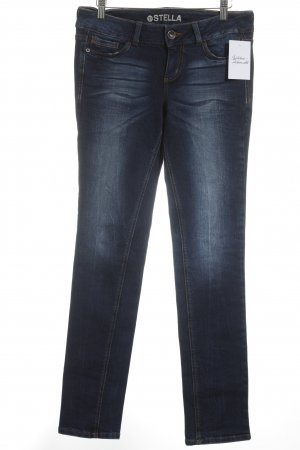 Tom Tailor Denim Skinny Jeans dunkelblau Casual-Look