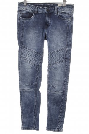 Tom Tailor Denim Skinny Jeans dunkelblau Street-Fashion-Look