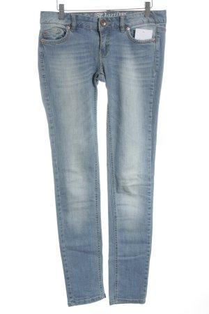 Tom Tailor Denim Skinny Jeans hellblau schlichter Stil