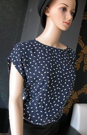 Tom Tailor Denim Sommershirt Bluse Gr. M