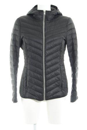 Tom Tailor Denim Gewatteerd jack zwart quilten patroon stedelijke stijl