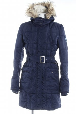 Tom Tailor Denim Quilted Coat dark blue casual look