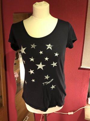 Tom tailor denim Sterne blau Shirt