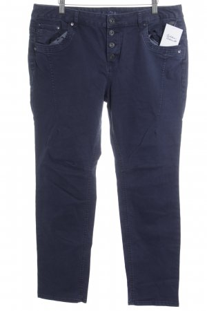 Tom Tailor Denim Straight-Leg Jeans dunkelblau Casual-Look