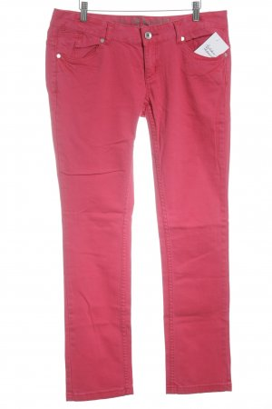 Tom Tailor Denim Straight-Leg Jeans hellrot Casual-Look