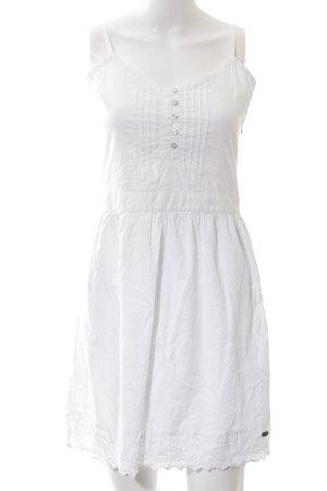 Tom Tailor Denim Trägerkleid weiß Elegant