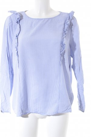 Tom Tailor Denim Tunikabluse blau-weiß Streifenmuster Elegant