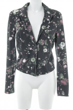 Tom Tailor Denim Tweedblazer Blumenmuster Casual-Look