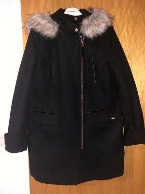 Tom Tailor Denim Manteau d'hiver noir laine