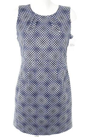 Tom Tailor Etuikleid dunkelblau-helllila Punktemuster Elegant