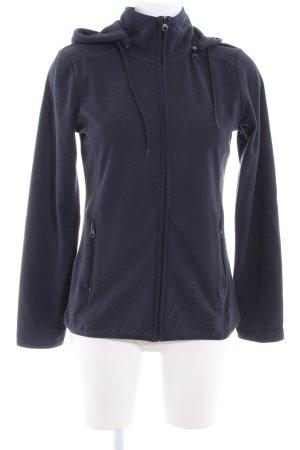 Tom Tailor Fleece Jackets dark blue casual look