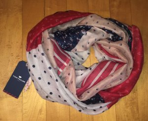 Tom Tailor Tube Scarf multicolored polyester