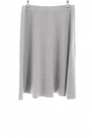 Tom Tailor Flared Skirt light grey flecked casual look