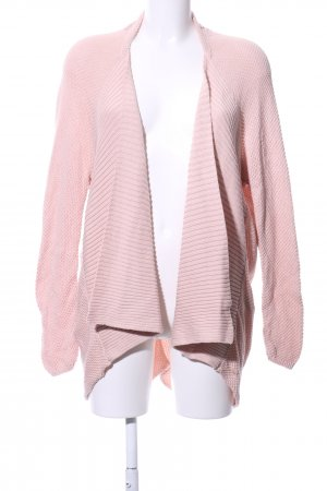Tom Tailor Coarse Knitted Jacket pink casual look
