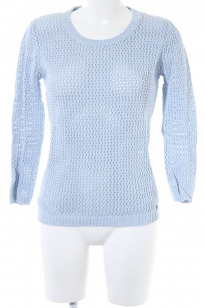 Tom Tailor Grobstrickpullover himmelblau Casual-Look