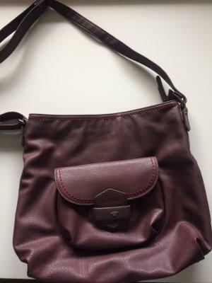 Tom Tailor Handtasche, dunkelrot