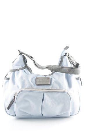Tom Tailor Handtasche grau-himmelblau Casual-Look