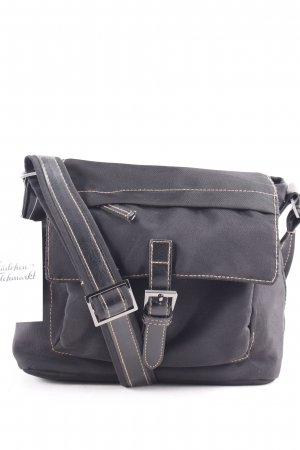 Tom Tailor Bolso negro look casual