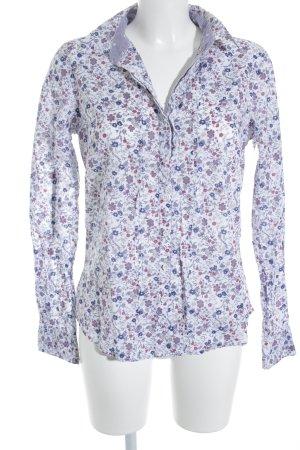 Tom Tailor Hemd-Bluse Blumenmuster Casual-Look
