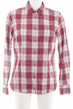 Tom Tailor Hemd-Bluse rot-weiß Karomuster Casual-Look