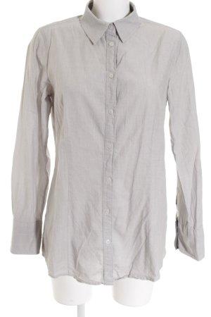 Tom Tailor Hemd-Bluse silberfarben-grau Casual-Look