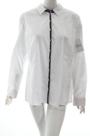 Tom Tailor Hemd-Bluse weiß klassischer Stil