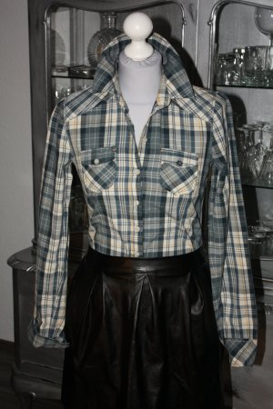 Tom Tailor Hemd Bluse XS 34 blau