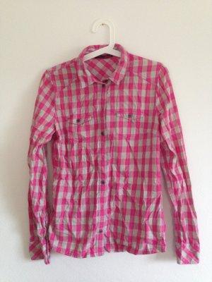 Tom Tailor Hemd mit pinkem Karomuster