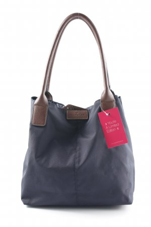 Tom Tailor Carry Bag dark blue-brown casual look