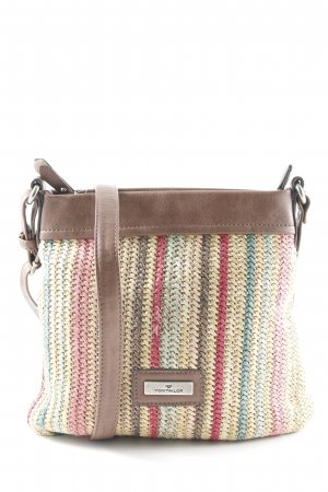 Tom Tailor Carry Bag striped pattern casual look